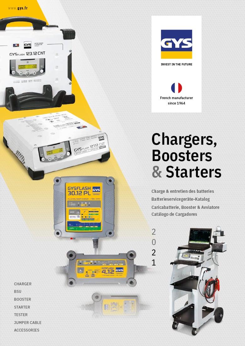 katalog GYS Charger 2021 okładka