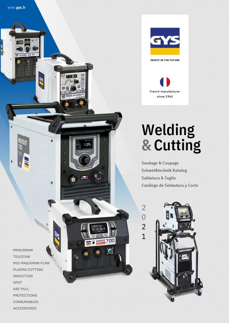 katalog GYS Welding 2021 okładka
